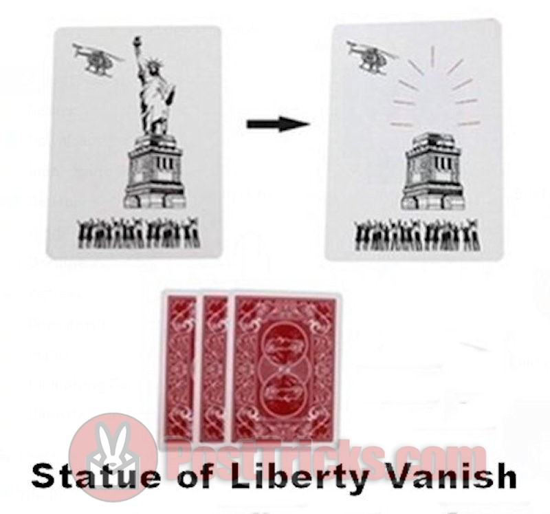 Statue of Liberty Vanish