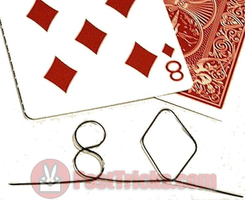8 of Diamonds Memory Wire