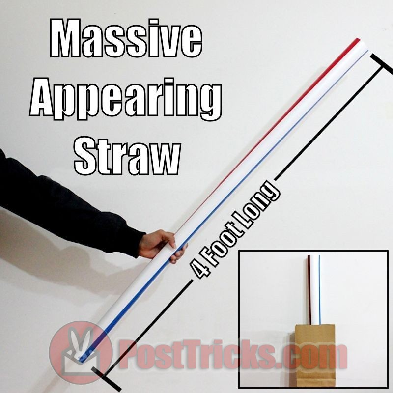 Appearing Straw 4 Foot