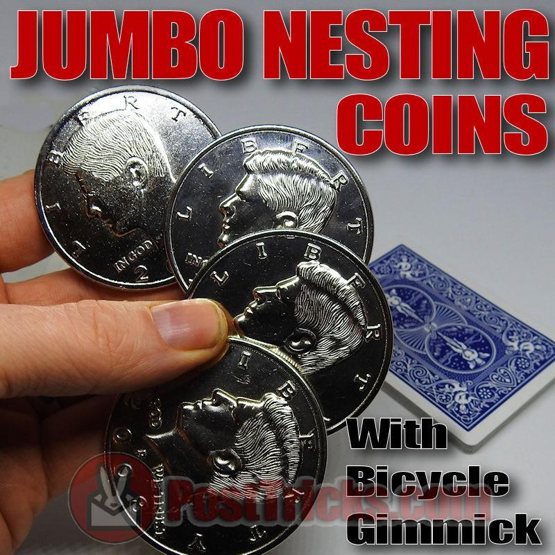 Jumbo Nesting Coins