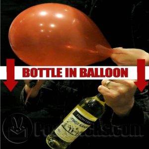 Bottle inside a Balloon Trick