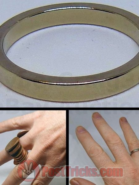 STRONG MAGNETIC PK RING